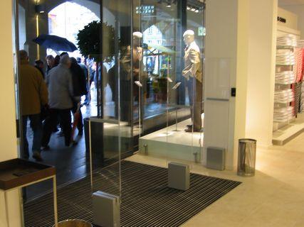 Фото счетчика посетителей Кондор 3 (Вход) в магазине белья